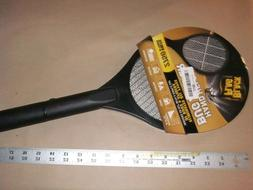 Black Flag Hand-Held Racket Bug Zapper Battery Electric Fly