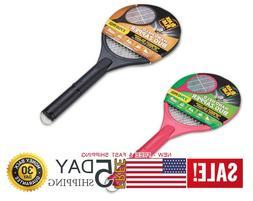 Black Flag Handheld Bug Zapper - 2-Pack, 1 Black and 1 Pink