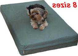 Heavy duty Canvas fabric replacement zipper cover for dog be