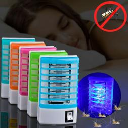 Home Electric LED Mosquito Insect Killer Lamp Fly Bug Trap Z