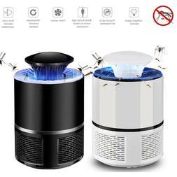 Home USB Electric Mosquito Killer Lamp Pest Repeller Zapper