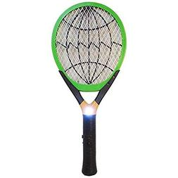 Indoor/Outdoor Hand Held Bug Killer Zapper W Built-In Rechar