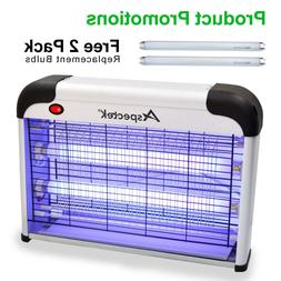 Indoor Insect Zapper Powerful 2800V Grid with 20W Bulbs Mosq
