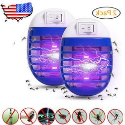 Indoor LED Electric Mosquito Fly Bug Insect Trap Zapper Kill