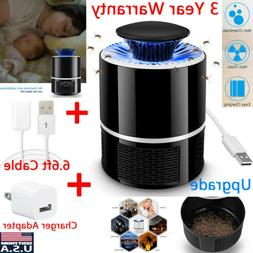 Indoor Outdoor USB Bug Insect Zapper Mosquito Killer Fly Pes