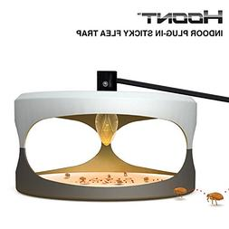 Hoont Indoor Plug-in Electric Sticky Flea Trap with Light an