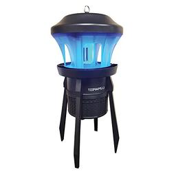 Insect Trap & Bug Zapper By Lumapest: UV Light Attractant Fo