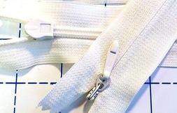 """Invisible Zipper Heavy Duty #5 or #6 for Bridal Gowns - 24"""""""