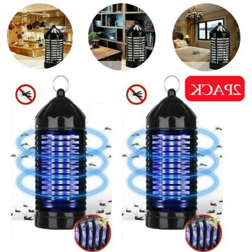 2pack Electric UV Mosquito Killer Lamp Outdoor/Indoor Fly Bu