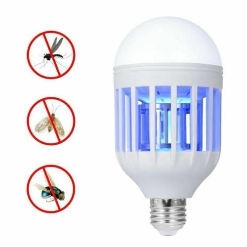 1 Pack Light Zapper LED Lightbulb Bug Mosquito Fly Insect Ki