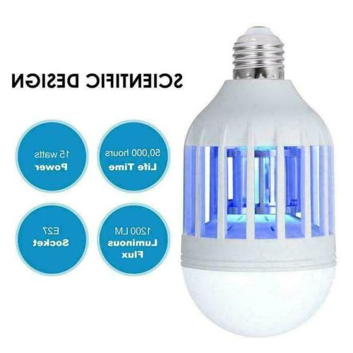 2 Zapper Lightbulb Mosquito Bulb Lamp