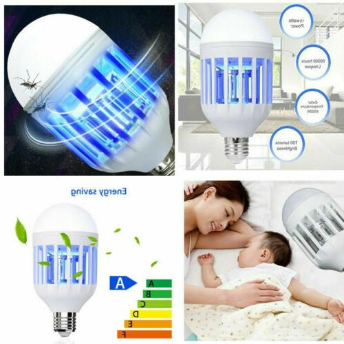 2 in Zapper LED Lightbulb Mosquito Bulb Home
