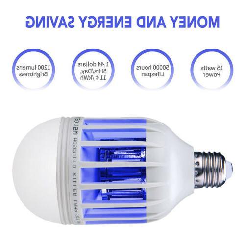 2 in 1 Zapper LED Bug Killer Lamp