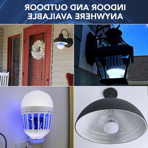 2 Zapper LED Bulb Bug Mosquito Killer