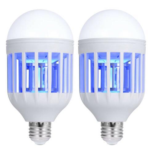 2 Pack Light LED Lightbulb Fly Insect Lamp