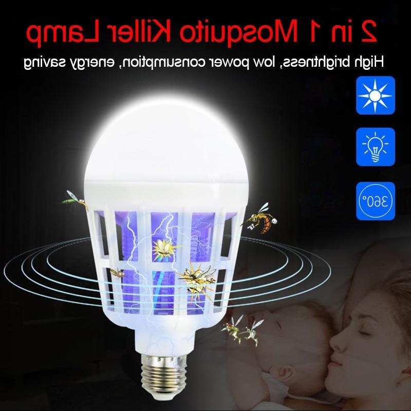 220V E27 UV Bulb 15W Lamp 1 Mosquito Insect Light Fly <font><b>Zapper</b></font> Night Light For Baby