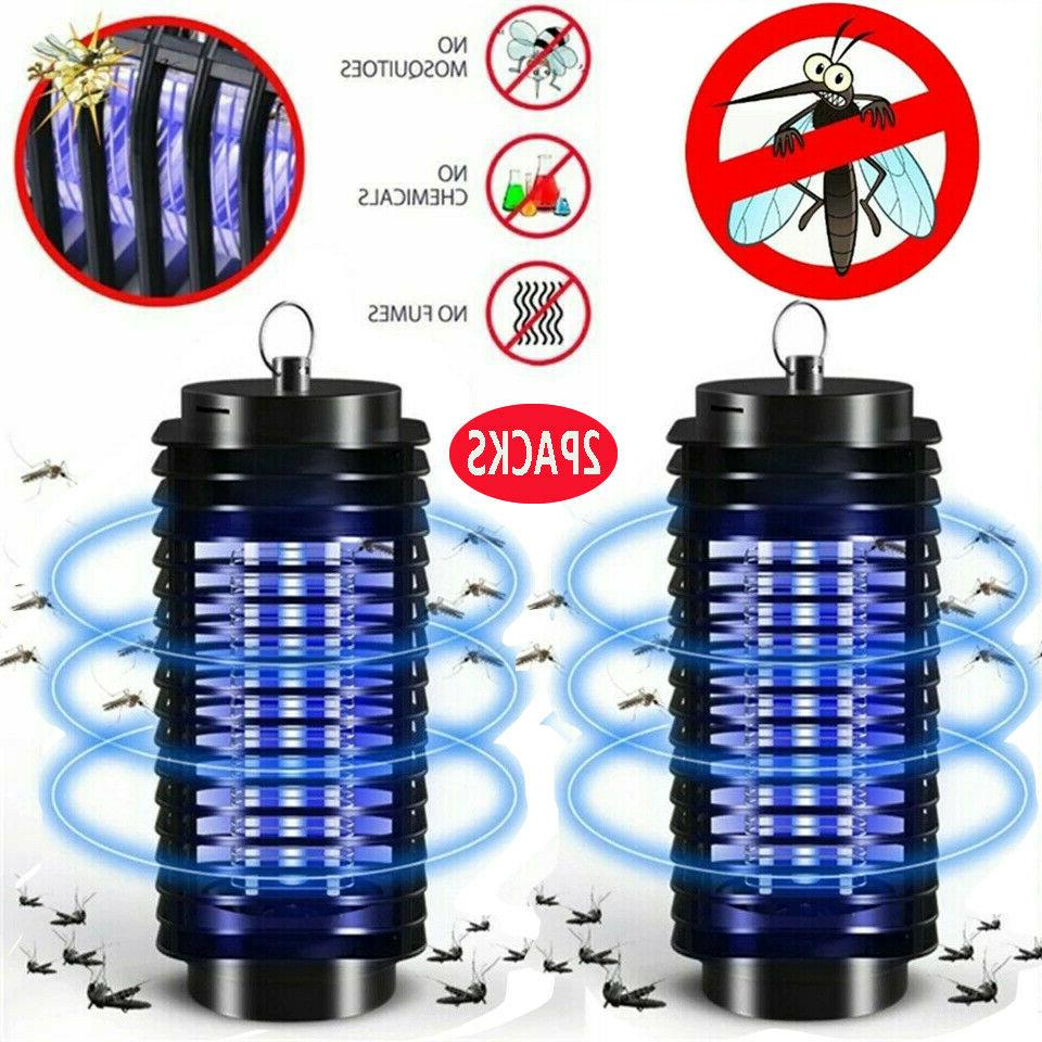 2pack electric mosquito fly bug insect zapper