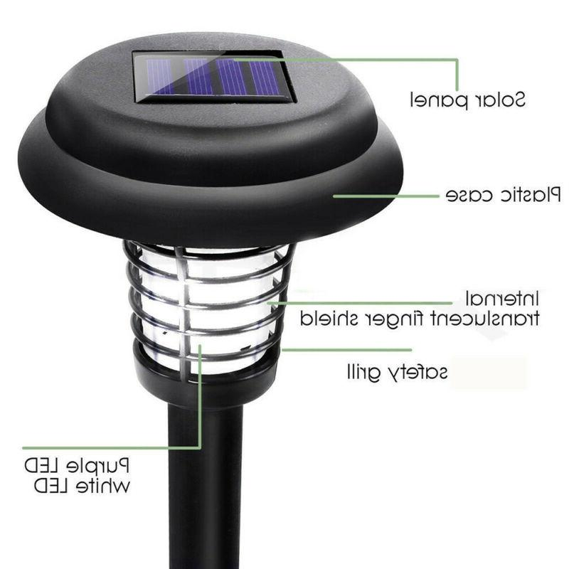 2PC Solar Killer Lamp Insect Repellent Light