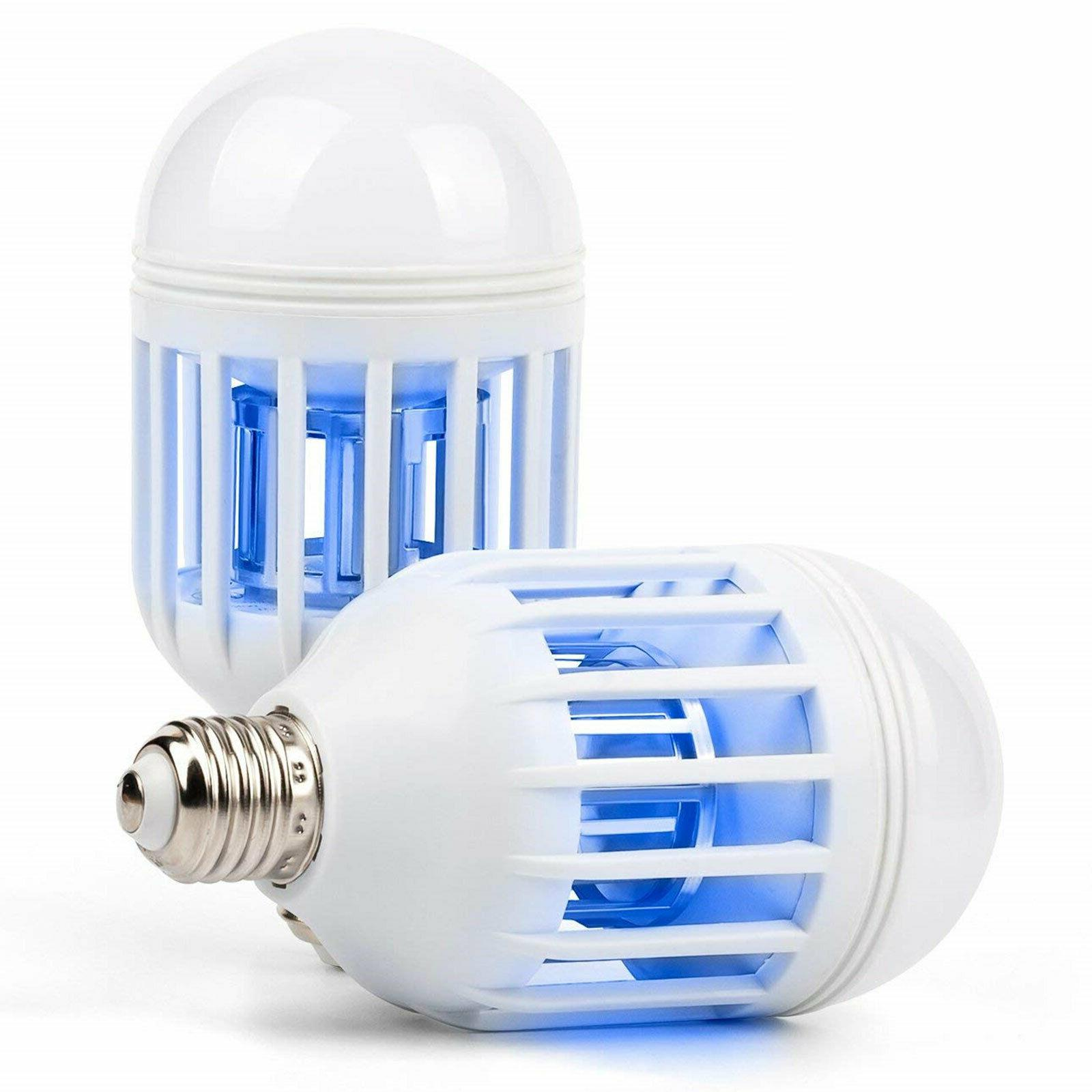 2PCS 1 Light Bulb Fly Insect