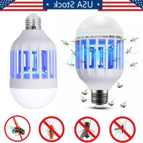 2Pcs Bulb Mosquito Trap Indoor Insect