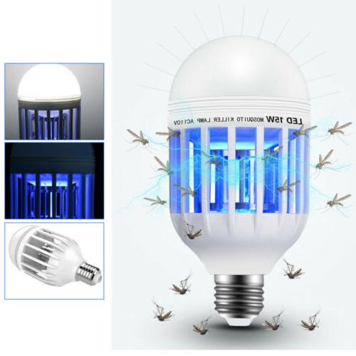 2Pcs Zapper Bulb Mosquito Trap Insect