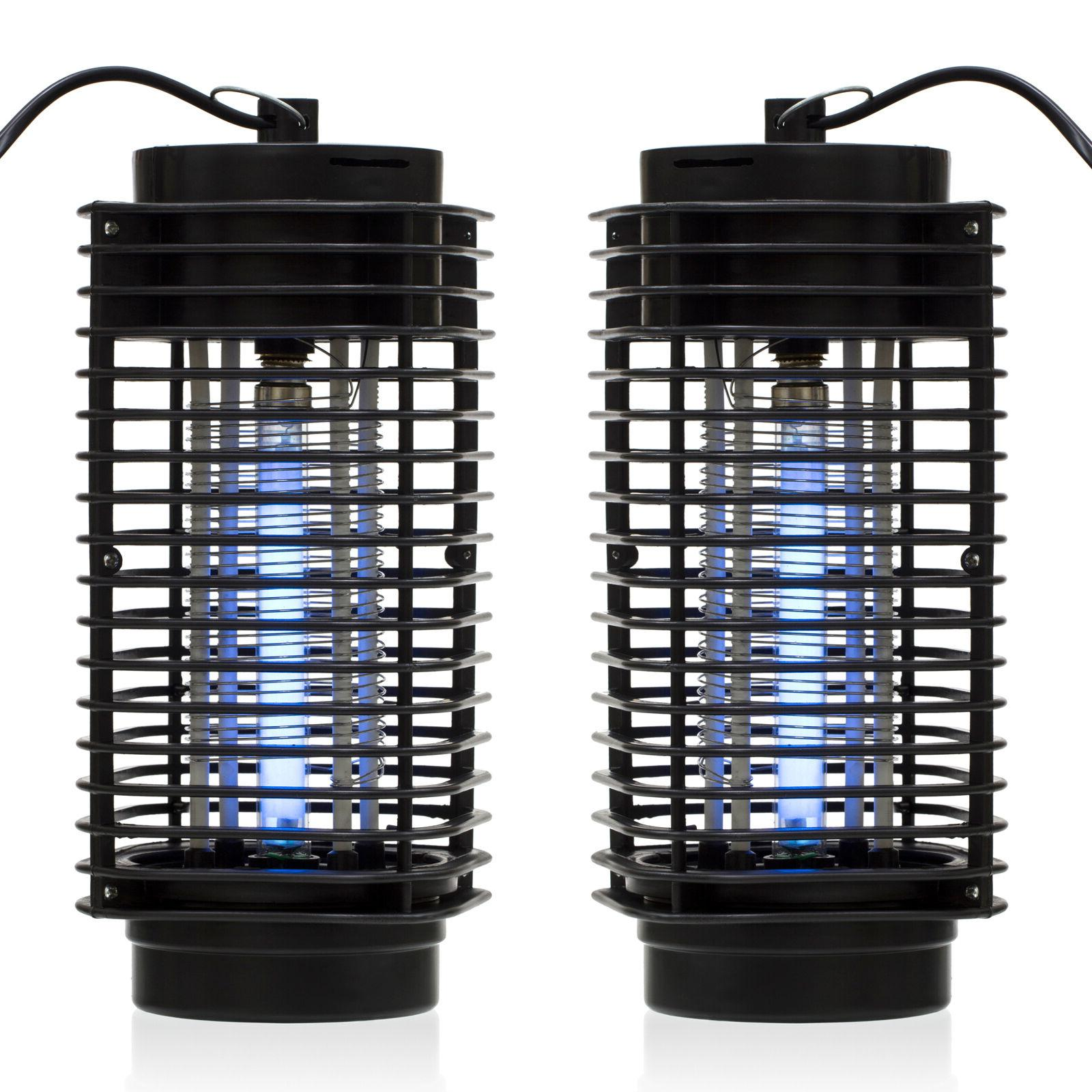 2pcs indoor bug zapper mosquito trap lamp