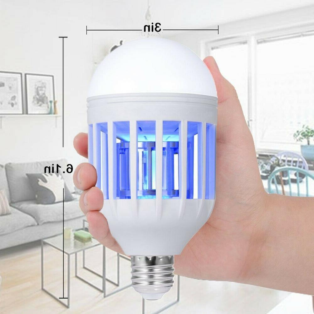 2x E27 Light Zapper LED Mosquito Bulb Lamp