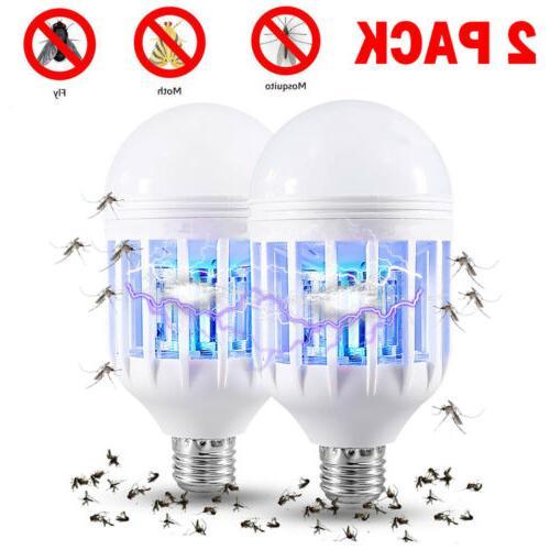 2x e27 light zapper led light bulb