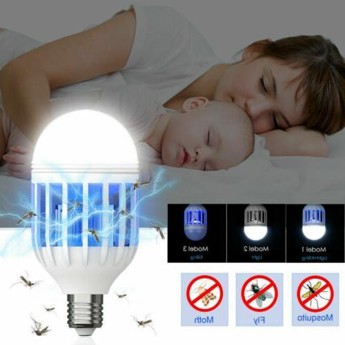 3PCS killer Fly Bug 15W E27 LED Light Bulb
