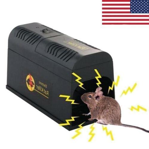 8000v electronic mouse trap rat pest killer