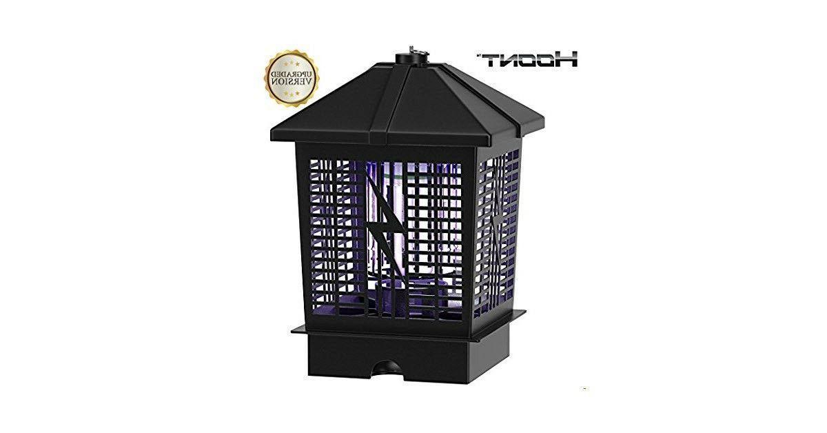 Hoont Powerful Electric Indoor Outdoor UV Light Trap 1- 1/2