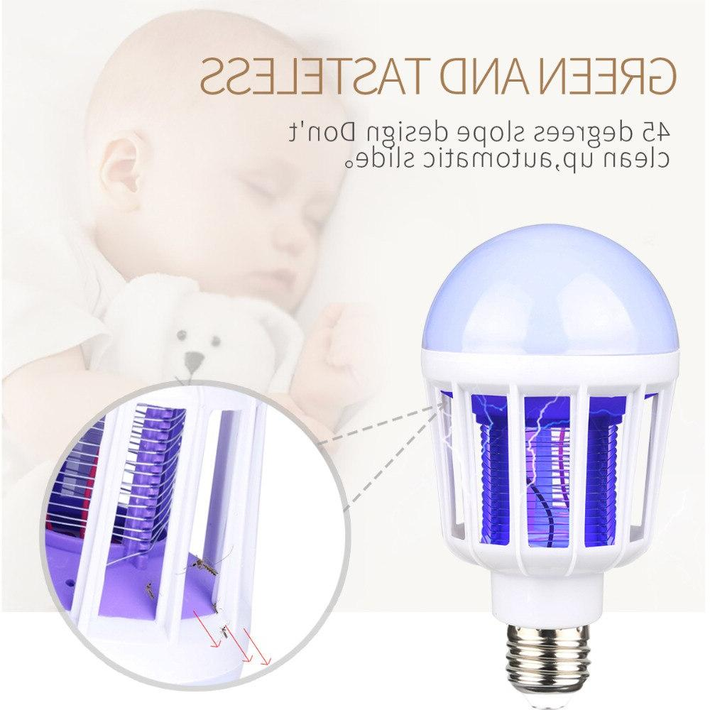 AC175~220V LED Mosquito Killer Bulb E27/B22 For Home <font><b>Zapper</b></font> Trap Lamp Anti