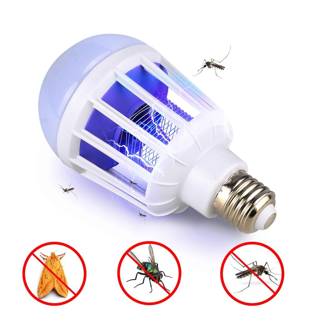 ac175 220v led mosquito killer bulb e27