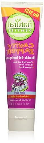 The Natural Dentist Anticavity Gel Toothpaste, Berry Blast