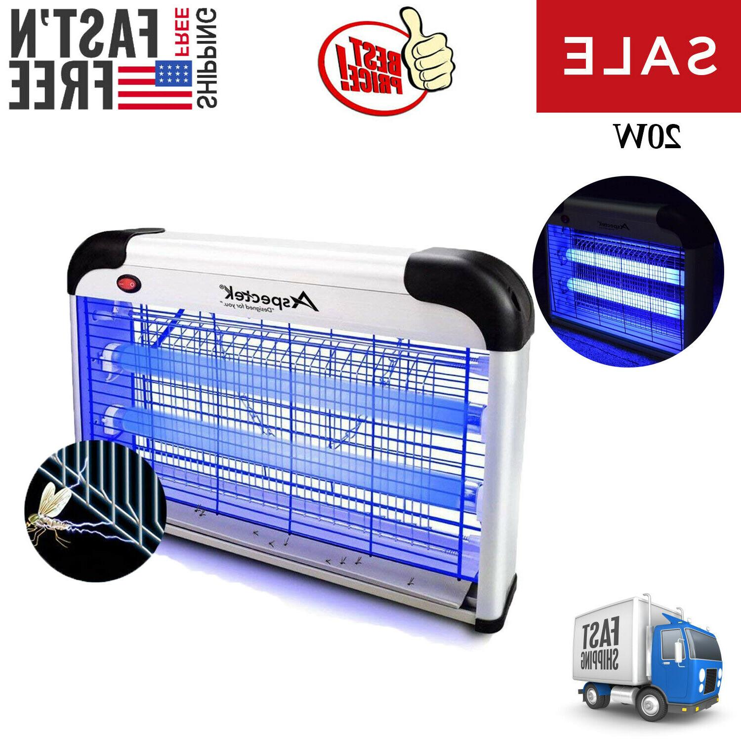aspectek electronic bug zapper insect mosquito pests