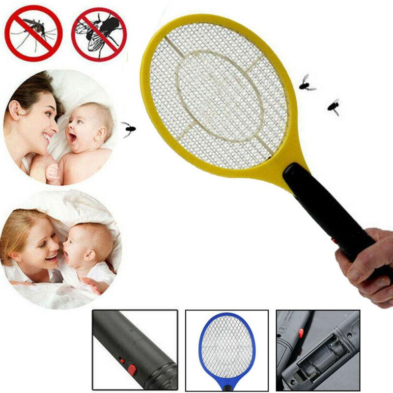 Battery Zapper Racket Fly Swatter Electronic Mosquito