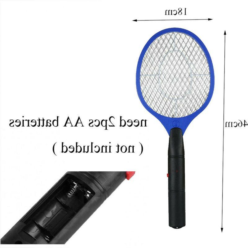 Battery Power Bug Zapper Racket Fly Swatter Electronic