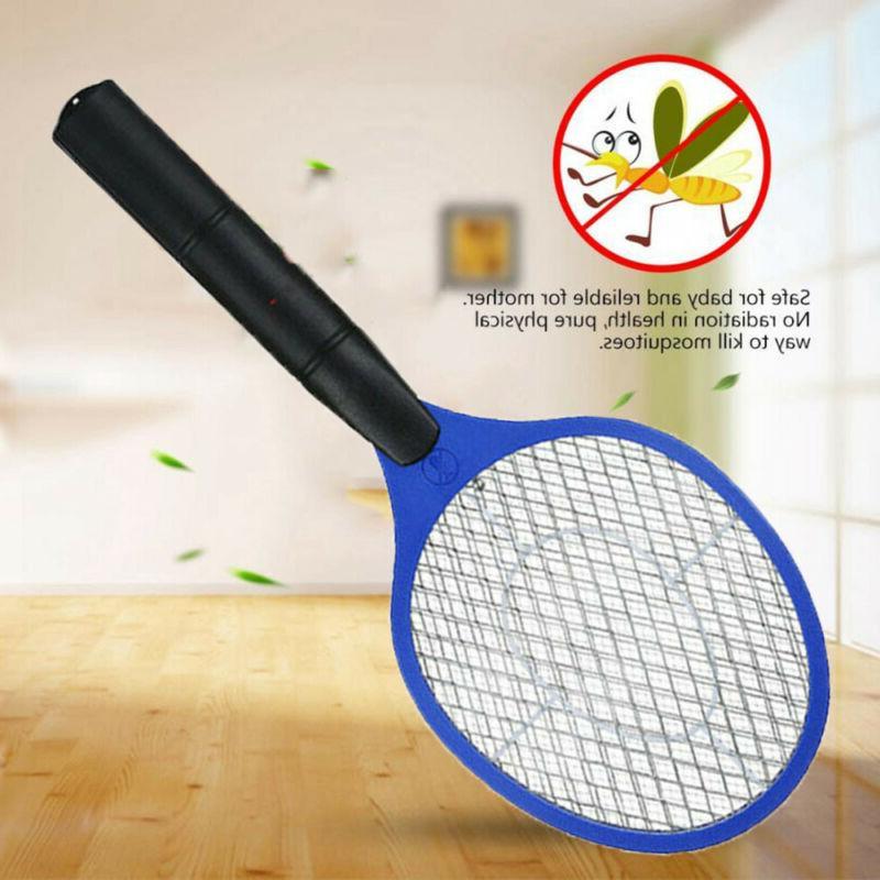 battery power summer bug zapper racket fly