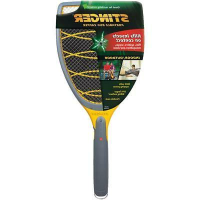 battery powered portable bug zapper racket