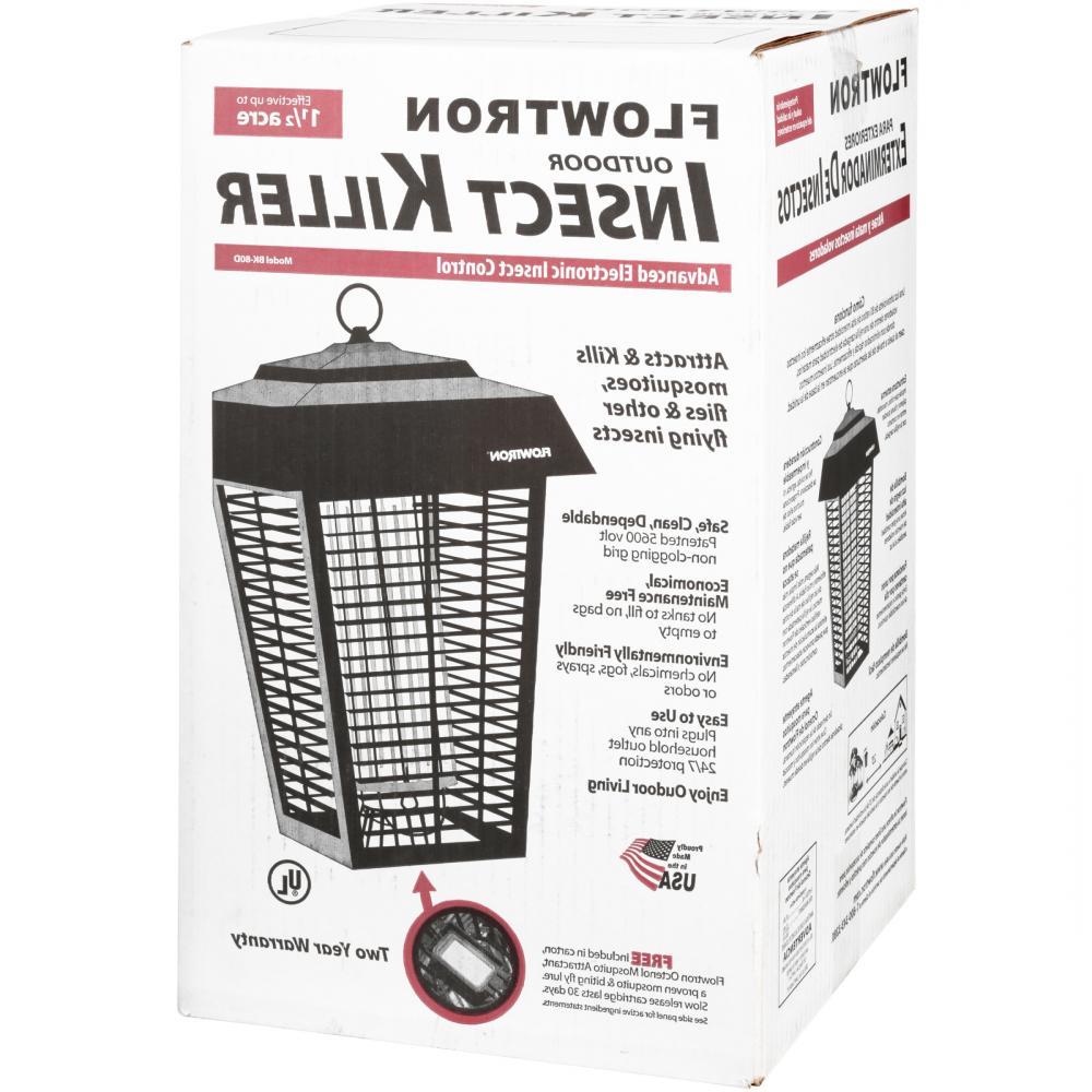 Flowtron BK-80D 80-Watt Electronic Insect Killer, 1-1/2 Acre