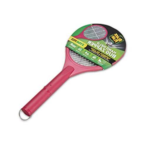 handheld bug zapper pink