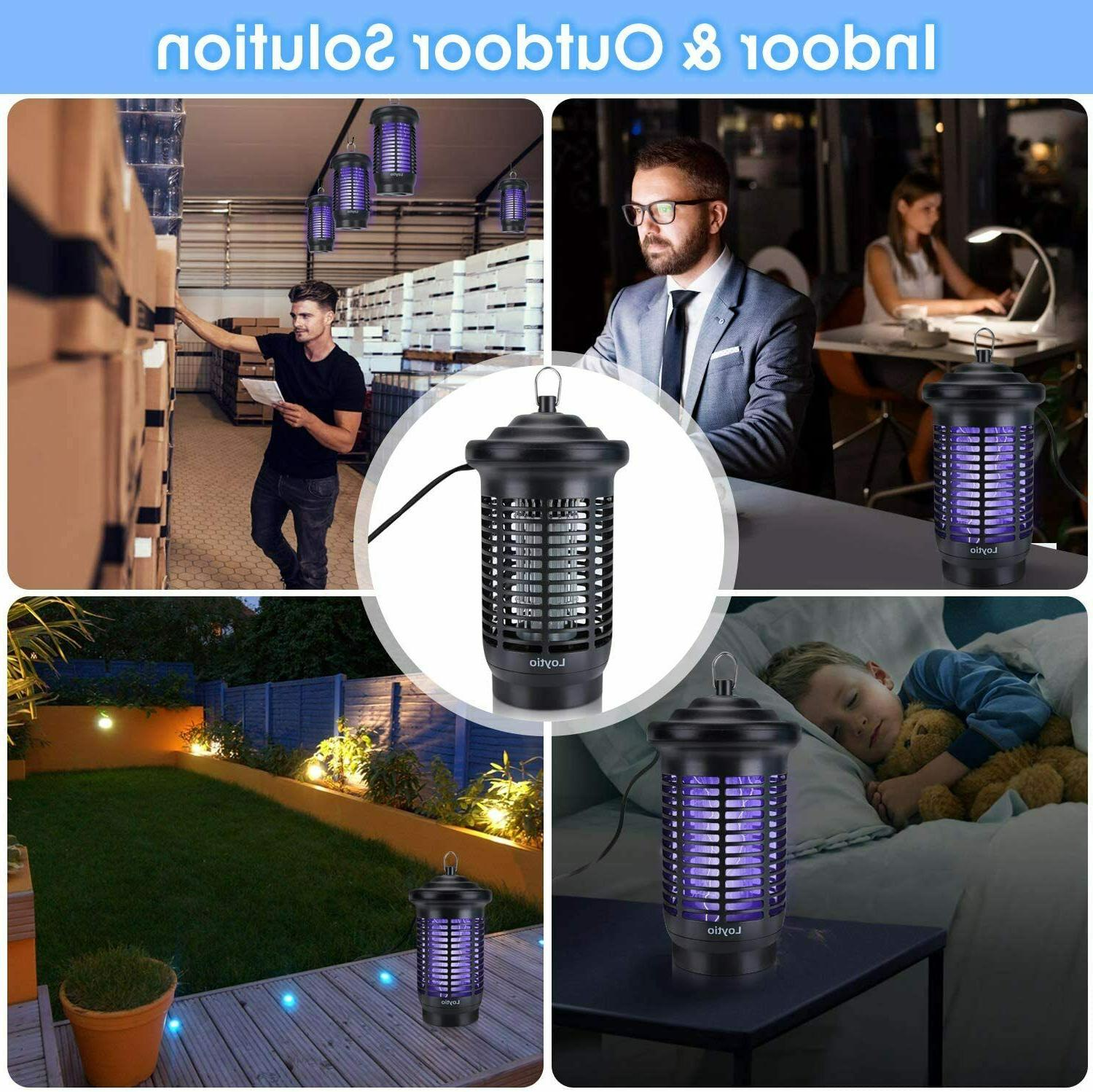 Bug Zapper, High Powered Electric Mosquito Fly Insect Trap