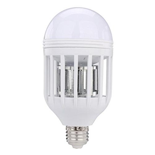 Bug Zapper Bulb,NOMENI New LED Anti-Mosquito 15W 1000LM 6500K Electronic Fly Bulb