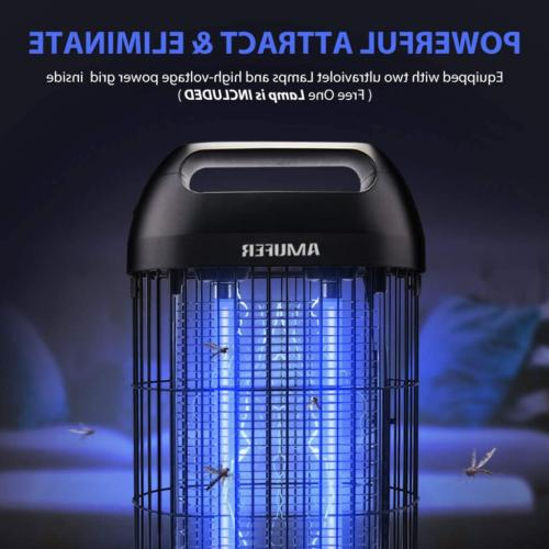 Bug Zapper Electric Mosquito Killer Fly Indoor Powerful