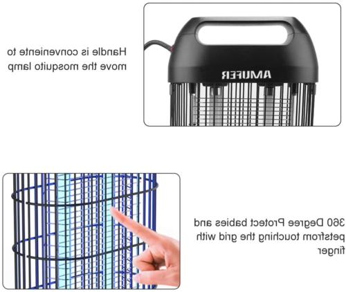 Bug Mosquito Killer Zapper Indoor Powerful Insect Kille
