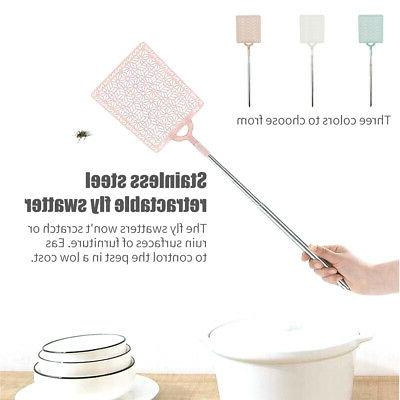 Portable Home Manual Pest Control Fly Swatter