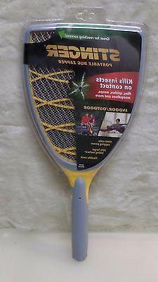 Bug Zapper Racket Stinger Handheld Indoo
