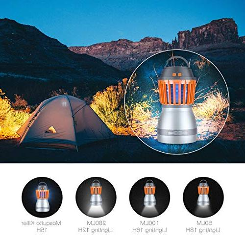 FREDI Camping Lights Bug Repellent Function,a IP67 Waterproof Rechargeable Camping Lantern Hiking,Camping,Backpacking,Fishing,Emergency