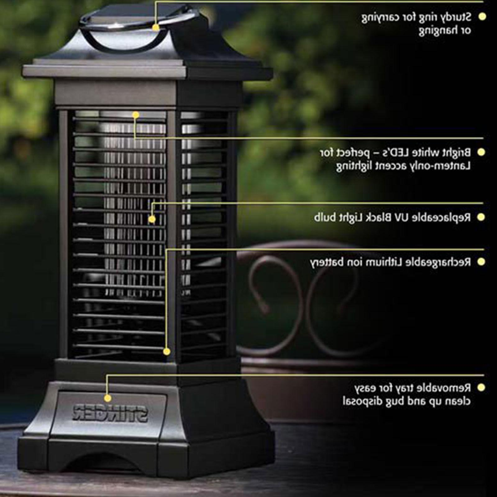 Cordless Fly Bug Outdoor Light