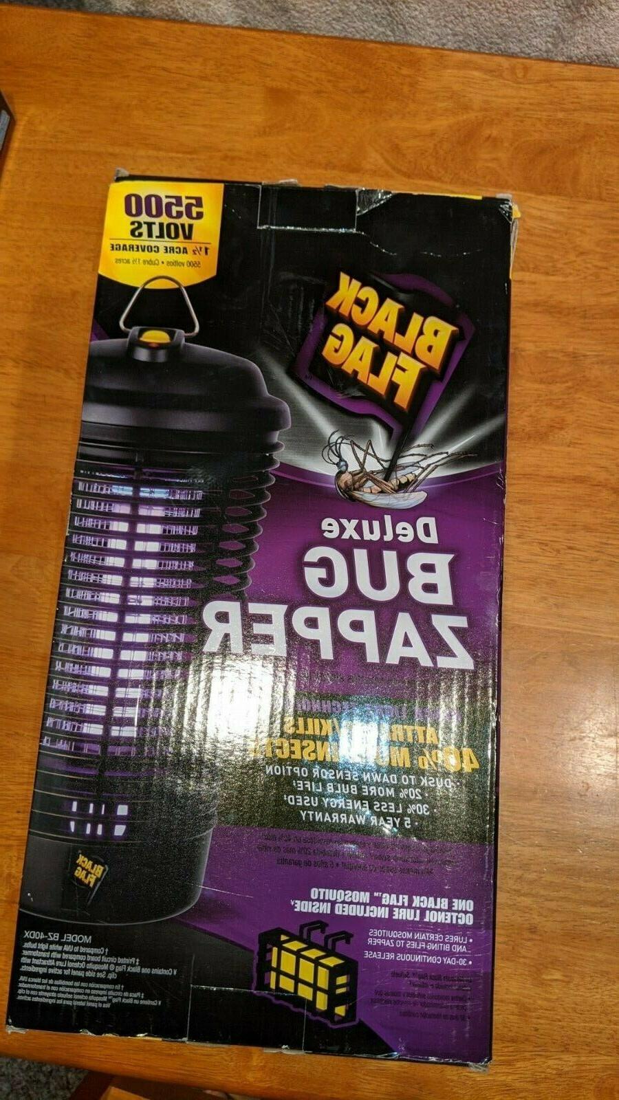 5500 Volt Deluxe Bug Zapper Plug In Dusk Dawn Sensor Switch